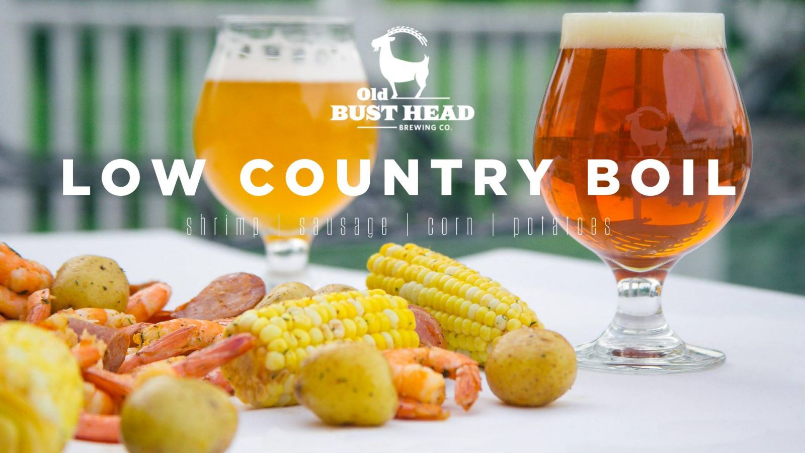 Low Country Shrimp Boil | Old Bust Head
